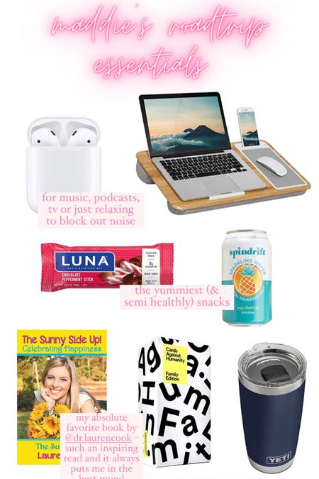 my roadtrip essentials! fav snacks, tech, games & other necessities 😃   #LTKunder50 #LTKsalealert #LTKtravel