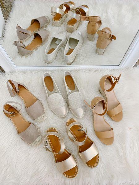 The cutest spring shoes under $50 at Target! Who is ready for espadrilles sandals and wedges?!   #LTKspring #LTKshoecrush #LTKunder50