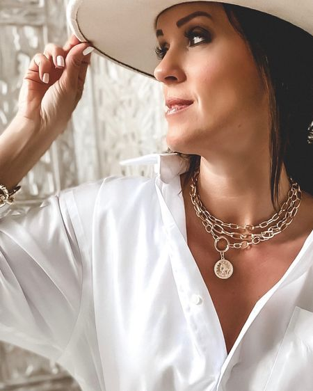 Ltk Day!  One day only sale with The Styled Collection!  40% off!  Pendant necklace, coin necklace, Parisian link bracelets. Love necklace.    Shop your screenshot of this pic with the LIKEtoKNOW.it shopping app http://liketk.it/2SCqu #liketkit @liketoknow.it #LTKDay #LTKsalealert #LTKunder50