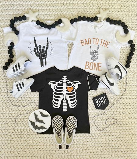 K I D S \ Get spooky this fall with these #halloween tees!!  #halloweencostume #baby #toddler #babyboy   #LTKHoliday #LTKSeasonal #LTKkids