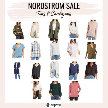 So many good tees, sweaters, and cardigan options in this year's #nsale! Great time to grab some fall staples.   #LTKSeasonal #LTKsalealert #LTKunder100