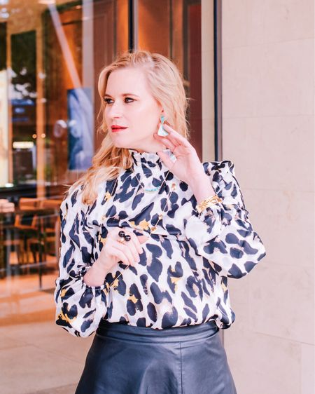 Is anybody else counting down until Thursday? Ready to indulge in all the Thanksgiving goods and spend time with family! Do any of you have fun traditions for the holiday? You can shop my favorite leopard look with @liketoknow.it ! PS - these amazing jewels are from @leemichaelsjewelry  http://liketk.it/2yl5G #liketkit #LTKunder100 #LTKunder50 #LTKstyletip #leopardprint #thanksgiving #shopthelook #everydayoutfit #animalprint #rewardstyleblogger #texasblogger #fashionista #mondaymood #fallstyle #sanantonio