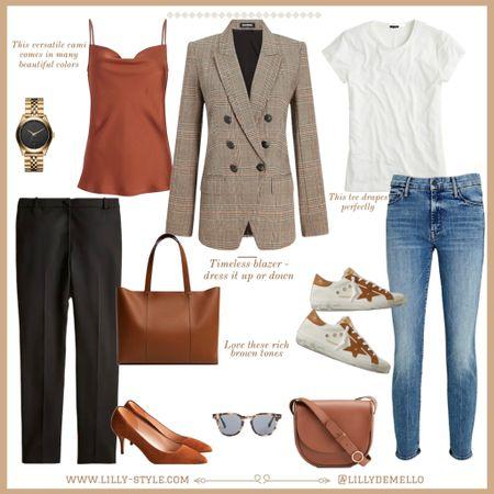 One blazer two ways - office or causal chic outfits    #LTKSeasonal #LTKstyletip #LTKsalealert