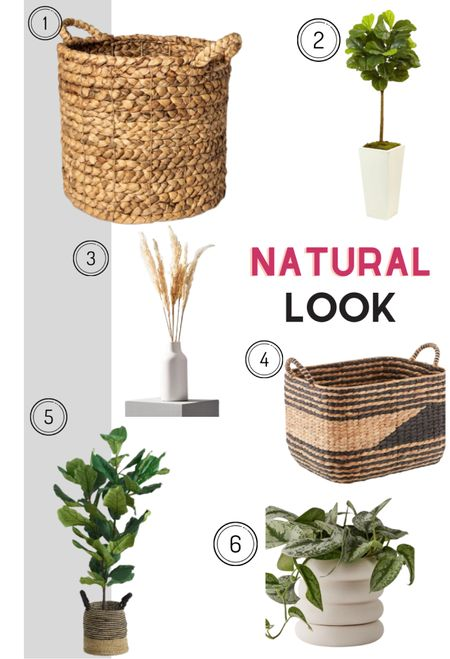 Bring in the feel of nature with these home accessories and warm up any room.   #LTKhome #LTKunder50 #LTKunder100