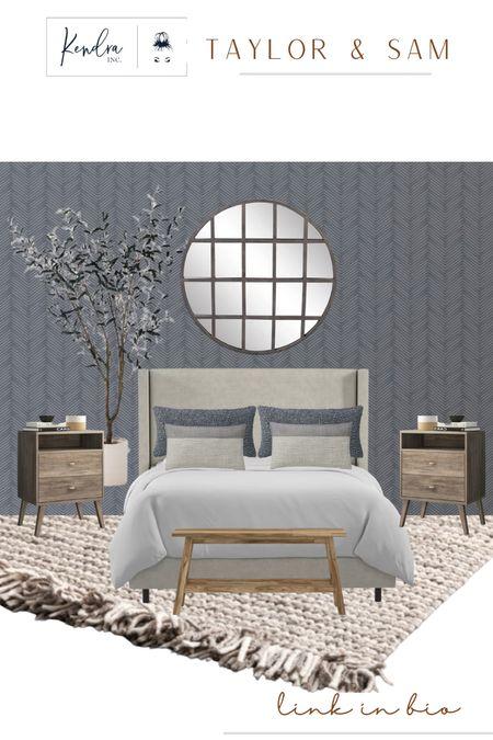 Bedroom inspiration for Taylor & Sam's apartment! .   #LTKhome #LTKunder100 #LTKstyletip