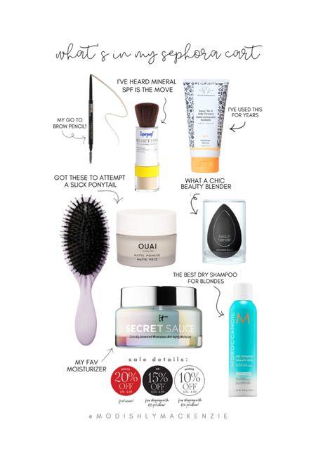 Spring Sephora sale! #liketkit #LTKSpringSale #LTKsalealert @liketoknow.it http://liketk.it/3cwwl
