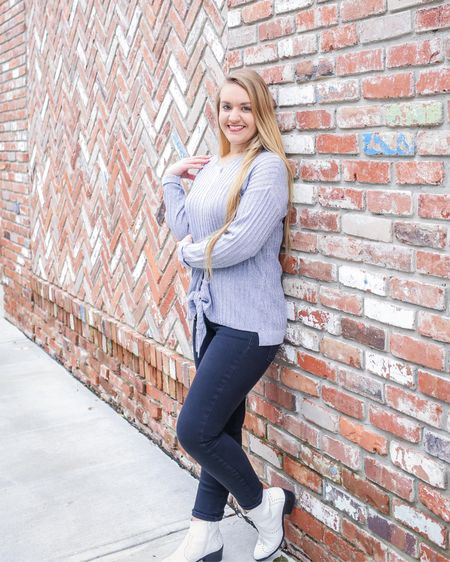 How to cure the Monday blues? Shop them away by indulging in a SALE! @nyandcompany has so many good buys for less than $15 like this tie-front, marled sweater for $9.99! (That's better than a Black Friday Price!)   If you missed my last blogpost on CentsibleBlonde.com, I shared that NY&C is one of my top 5 places to find the best affordable work clothes + I tell you what to do to save money at each store!  ________________________________  Shop my daily looks by following me on the free LIKEtoKNOW.it app! Everything is always linked on CentsibleBlonde.com too!   http://liketk.it/2zsno   @liketoknow.it #liketkit #LTKunder50 #LTKunder100 #LTKsalealert #LTKshoecrush #LTKstyletip