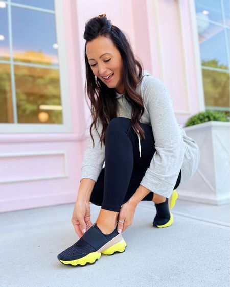 """One of my favorite new sneakers of the season! Aren't these @sorel Kinetic Impact Slip On Sneakers so chic?! They are a new find for me this month from @dsw and are EXTREMELY comfy + easy to wear whenever!  #ad   I'm showing you all a closer look in my stories, so head that way to check it out! #mydsw #DSWTrendSquad""""   #LTKunder100 #LTKstyletip #LTKshoecrush"""