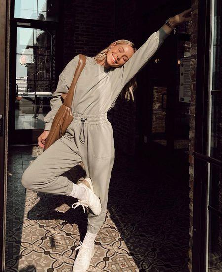 Comfy & cozy for early Fall 🤍  #LTKstyletip #LTKunder100 #LTKSeasonal