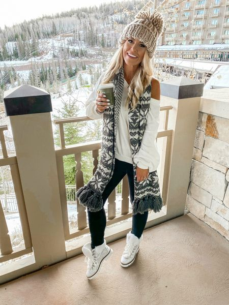 Good morning Babes!! Wishing I could have packed up some of this winter wonderland and brought it back to Dallas ❄️✈️ I am so excited my new favorite scarf and hat are on SALE!! Linking a bunch of my favs through the @liketoknow.it  app that's would make for the best Christmas Gifts UNDER $20!! Also can we just talk about these ✨boots✨ @whitneynrife if these didn't make it home with you - we have no clue where they might be🤩😂Shop now before they are sold out!#winterwear #winteroutfit #winterboots http://liketk.it/2GYan #liketkit #LTKsalealert #LTKholidaystyle #LTKholidaygiftguide http://liketk.it/2GYbV