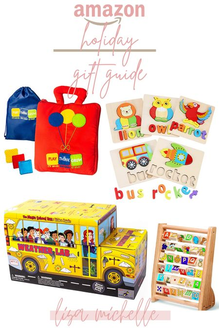 Amazon holiday gift guide! I love these fun and educational toys that help with development and discovery!   #LTKkids #LTKbaby #LTKfamily