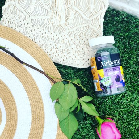 Save on Airborne Health Elderberry Immune Support Gummies! These gummies are part of my daily routine and help me make sure I'm ready to take on the day.  Save with my code DEVINEFAIRYTALESAVE 💜  http://airbornebundles.com/?ref=l9yRoMcNH8yFw   Airborne Elderberry Gummies are easy to take and are: ✨Gluten Free ✨Gelatin Free ✨NO added colors ✨NO artificial sweeteners  Support your immune system* with Vitamins C, D, E, & Zinc today! 🙌🏻  *These statements have not been evaluated by the Food and Drug Administration. This product is not intended to diagnose, treat, cure, or prevent any disease.  #AirbornePartner #AirborneHealth #Elderberry #AirborneGummy #immunesupport #immunesystem #immunehealth #morningroutine #dailyroutine #vitaminc #antioxidants   #LTKbacktoschool #LTKtravel
