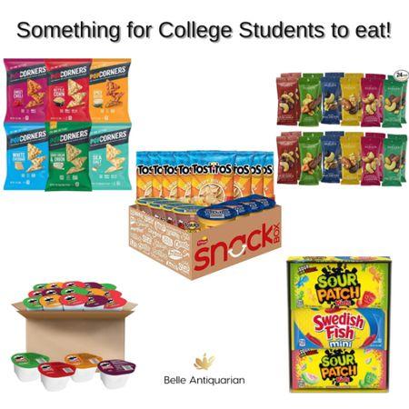 Send some snacks to a college student!  #LTKbacktoschool #LTKfamily #LTKunder50
