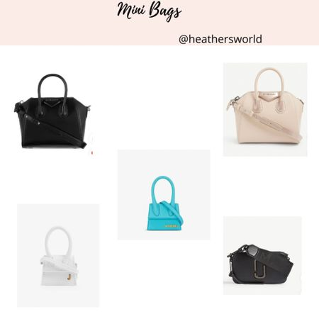 Mini bags love this trend for summer   #minibags #bags #designer #lkit   #LTKitbag #LTKSeasonal #LTKstyletip