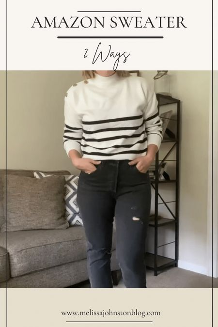 Amazon sweater on sale for $21 - fall sweater, fall looks, sweaters   #LTKGiftGuide #LTKstyletip #LTKHoliday