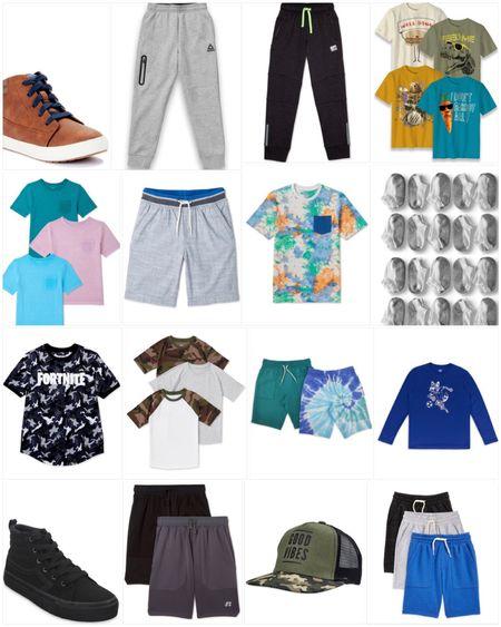 Kids boys back to school clothes from Walmart   #LTKkids #LTKfamily #LTKunder50
