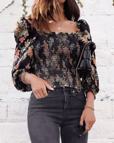 Date night look, date night inspired outfit, blouse, Jean ex accessories, linking affordable options, StylinByAylin   #LTKstyletip #LTKunder100 #LTKSeasonal