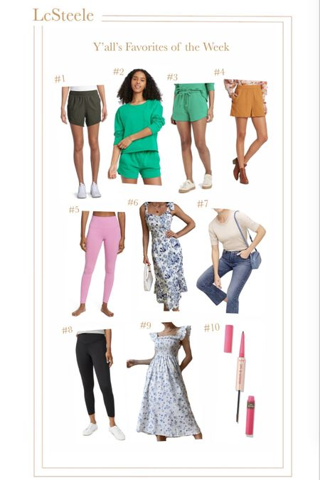 Y'all's favorites from last week!   #LTKfit #LTKworkwear #LTKunder50
