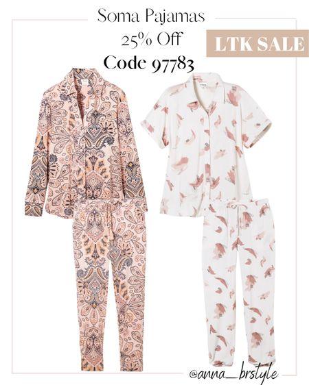 soma pajamas on sale #anna_brstyle  #LTKSale