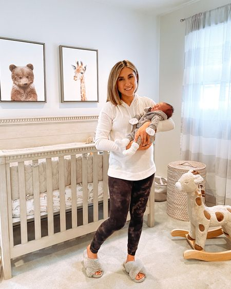 Dress up the baby but stay in leggings, yanno?  My waffle hoodie is only $27 with code MYSTERY! Also linking everything in this baby boy's nursery. Screenshot any of my pics to shop in the @liketoknow.it app & give me a follow! http://liketk.it/39T4a #liketkit @liketoknow.it.family @liketoknow.it.home #LTKbaby #LTKfamily #LTKunder50