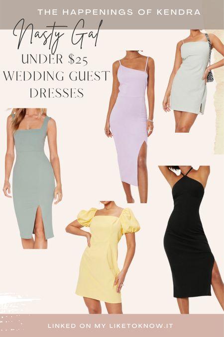 Wedding guest under $25 dress options @nastygal #liketkit #LTKsalealert #LTKwedding #LTKstyletip http://liketk.it/3h1sd @liketoknow.it #weddingguestdress #ltkunder25