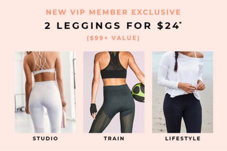 Fabletics Black Friday! Affordable leggings, workout clothes, athleisure, gifts for athletes, yoga, squat proof leggings   #LTKfit #LTKsalealert #StayHomeWithLTK