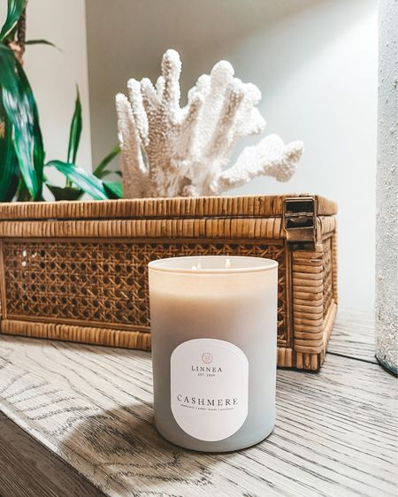 The best smelling candle ever! Cashmere scent is patchouli with amber woods combined 🤍 @liketoknow.it #liketkit #LTKhome http://liketk.it/3henc
