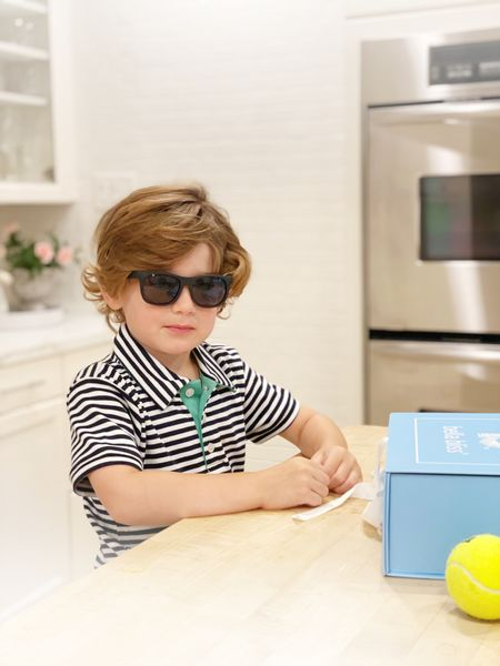 Boyce is rocking his new outfit from Bella Bliss and Amazon sunglasses   #LTKkids #LTKunder100 #LTKfit