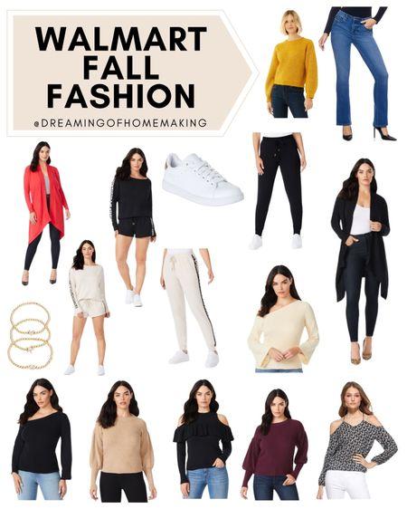 Walmart fall fashion!!  Dreaming of Homemaking | #DreamingofHomemaking   #LTKunder100 #LTKsalealert #LTKunder50