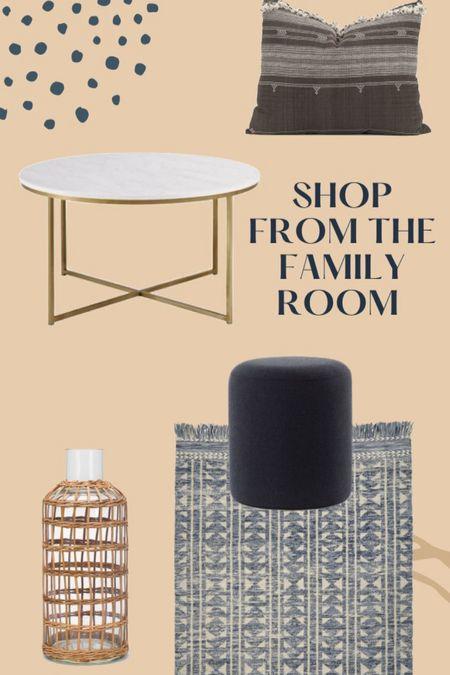 Shop my family room!   #LTKstyletip #LTKhome #LTKunder50