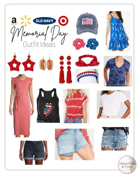 Memorial Day outfit ideas from Amazon, Walmart, Old Navy, & Target 🇺🇸 ⭐️ 🎯  http://liketk.it/3g6bz #liketkit @liketoknow.it