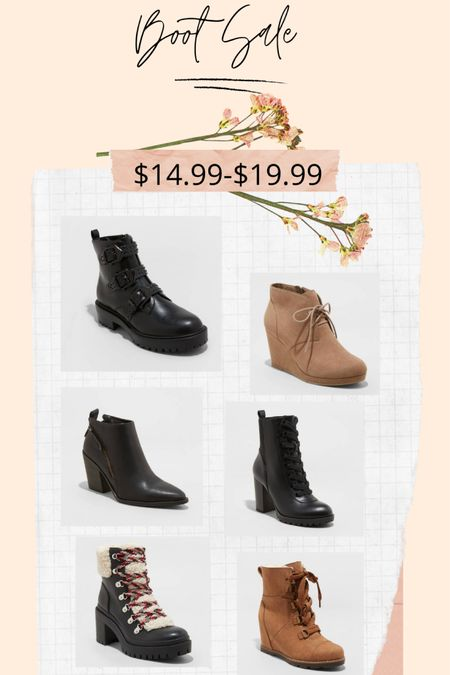 The 50% off boot sale today is blowing my mind! Sizes are going fast, so grab them quick! http://liketk.it/34myW #liketkit @liketoknow.it