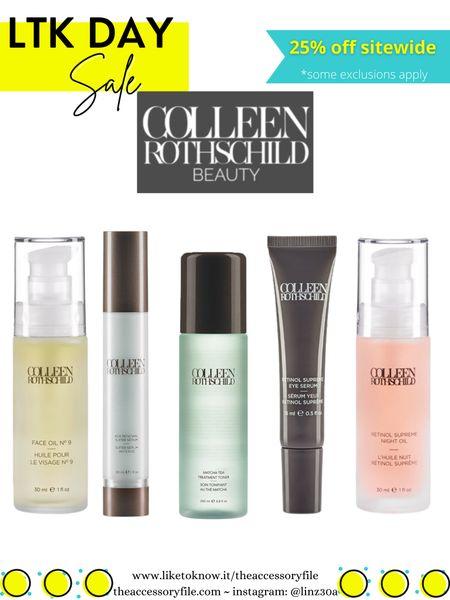 25% off Colleen Rothschild   Skincare, facial oil, eye cream, shampoo, body soap, body scrub, blemish treatment   http://liketk.it/3hAb9     #liketkit @liketoknow.it #LTKbeauty #LTKsalealert #LTKday