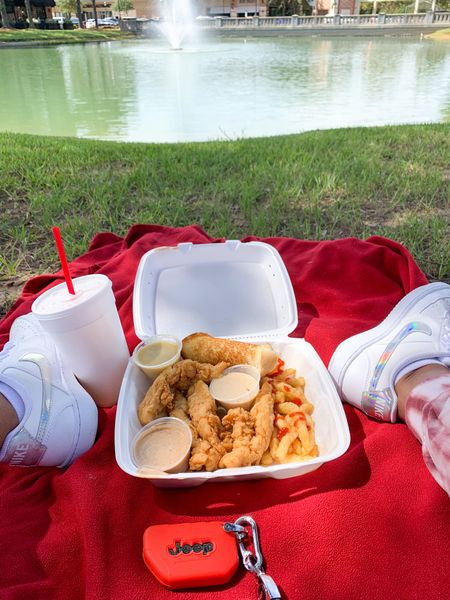 First Day of Fall. Outdoor Picnic Lunch was perfect. I keep a blanket in my Jeep and it came in handy today. #Blankets #OversizedBlankets #Nike #TennisShoes #FirstDayofFall   #LTKSeasonal #LTKHoliday #LTKshoecrush