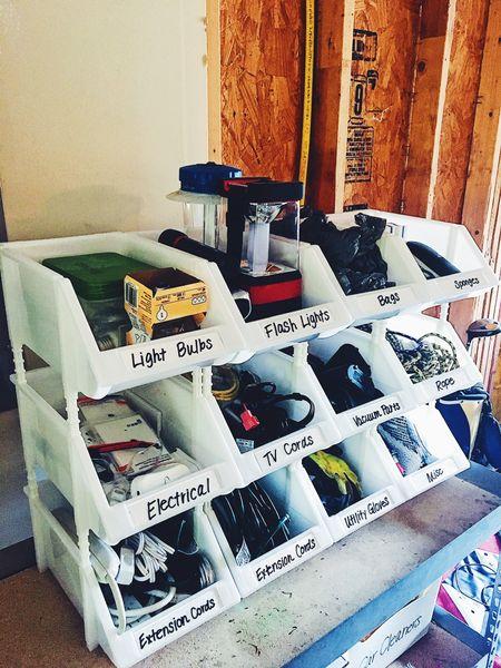 Garage Organization   #LTKSeasonal #LTKhome #LTKunder50