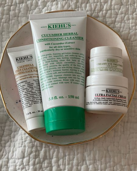 Kiehl's Skincare! I reviewed Kiehl's skincare on my blog. Not every product I tried left me impressed. I'll tag the products, I loved the most. http://liketk.it/3bXIL #liketkit @liketoknow.it #LTKbeauty