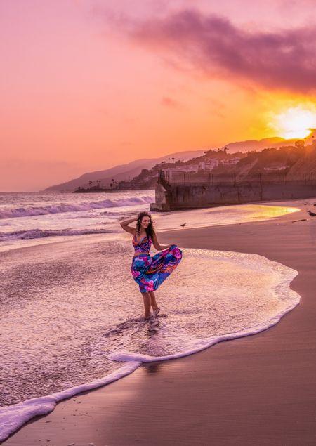 Two piece set floral maxi skirt summer outfits beach outfit   #LTKunder100 #LTKstyletip #LTKsalealert