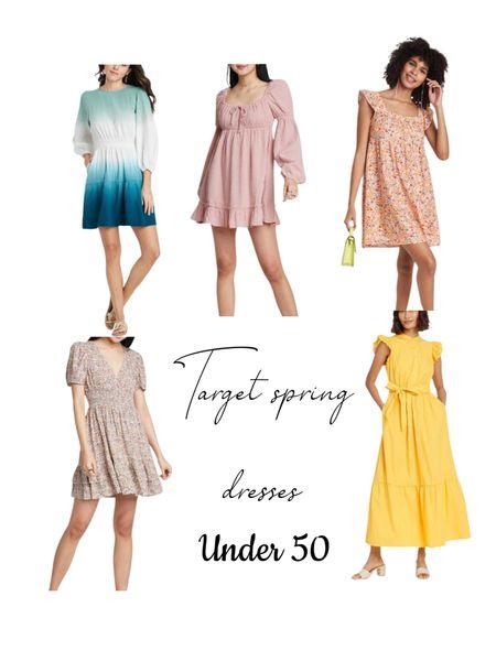 Target spring Dresses// Spring// Dresses//   #StayHomeWithLTK #LTKunder50 #LTKfamily