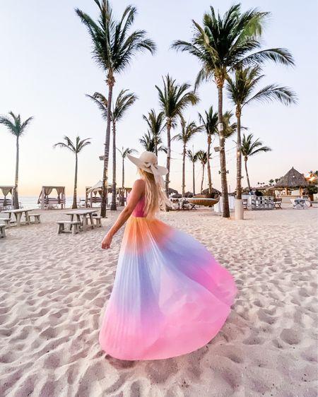 Summer dress, halter dress, wedding guest dress, summer wedding dress http://liketk.it/3gafb #liketkit @liketoknow.it #LTKstyletip #LTKwedding #LTKtravel