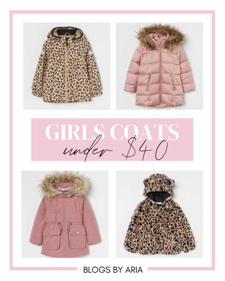 Girls coats and jackets under $40 kids coats kids jackets   #LTKSeasonal #LTKkids #LTKunder50