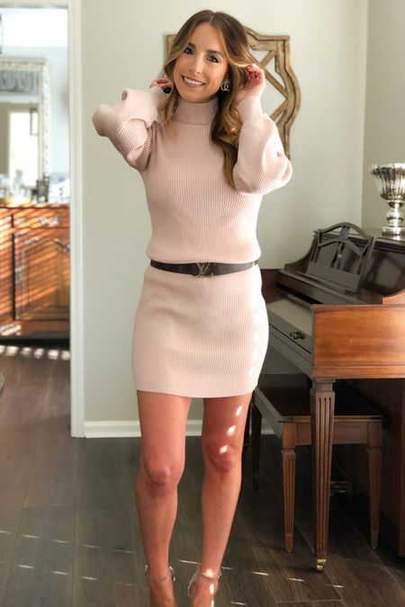Is it possible to have too many sweater dresses? Asking for a friend 🙃I am alllll about a good light pink/neutral tone, so this one most def caught my eye! Plus this is a great color for winter in general.... not just the Christmas season! ❄️ (However if this little guy isn't your jam, he comes in other colors! 😉) link to the look in LTK!  #sweaterdress #sweaterweather #styleblogger #bloggerstyle #msblogger #mississippiblogger #amazon #founditonamazon #amazonstyle #amazonfashion #affordablestyle #winter #winterstyle #holidayseason #christmas #holidaystyle #holiday #LTKunder50 #LTKstyletip #LTKbeauty    http://liketk.it/2ZB20 #liketkit @liketoknow.it