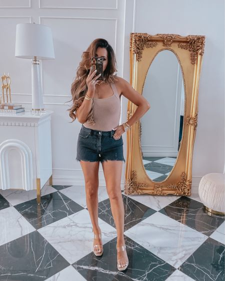 http://liketk.it/3hldS #liketkit @liketoknow.it #LTKDay Emily Ann Gemma, LTK day, LTK sale, summer outfits, Cartier dupe bracelets, Cartier dupe rings, necklace, body suit, jean shorts, wedges, Nordstrom, Steve Madden, Abercrombie, styled collection, Abercrombie: 20% off with code LTKAF2021, styled collection: 30% off with code LTK30