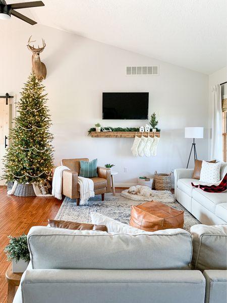 Living room Christmas decor inspo.   #LTKfamily #LTKhome