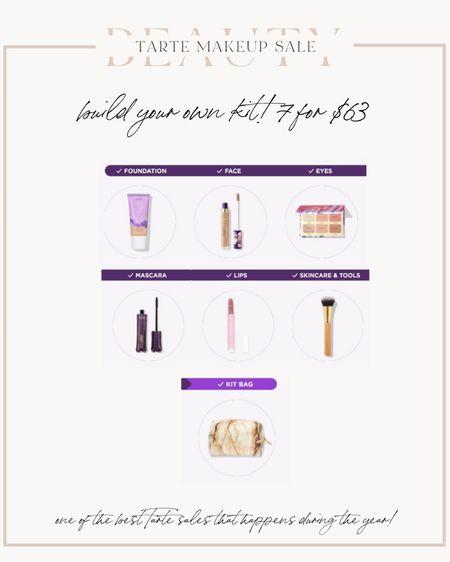 Tarte sale - build your own kit for $63! @liketoknow.it http://liketk.it/3hFEI #liketkit #LTKbeauty