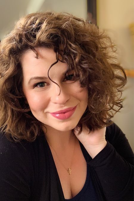 Curly hair products all listed as well as cosmetics for an easy 5 minute face   #LTKbeauty #LTKstyletip #LTKunder50