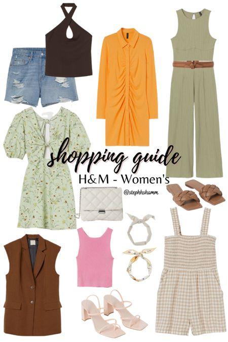 H&M Women's new arrivals!  Spring outfits, H&M new arrivals, spring colors, top picks    http://liketk.it/3eBC9 #liketkit #LTKsalealert #LTKunder100 #LTKunder50 #LTKSeasonal @liketoknow.it
