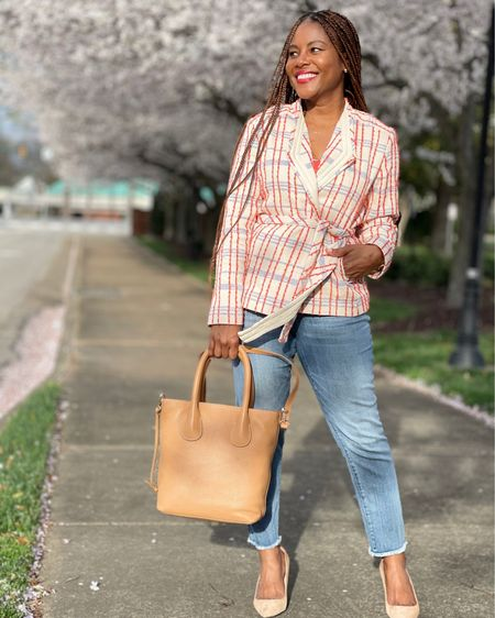 There's a fabulous Chic and Bloom Sale going on over at Chico's! Here are a couple of must have wardrobe staples! #LTKSpringSale #LTKsalealert #LTKstyletip http://liketk.it/3bZQK #liketkit @liketoknow.it