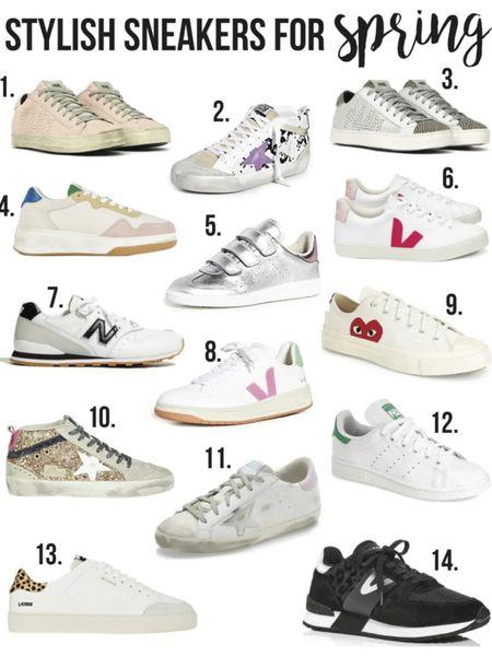 Stylish spring sneakers ❤️// http://liketk.it/3cfjb #liketkit @liketoknow.it