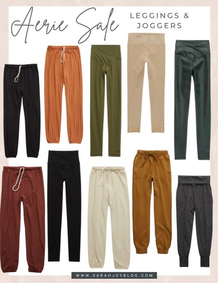 Aerie joggers and leggings are up to 50% off today!!   #LTKGiftGuide #LTKunder50 #LTKSeasonal