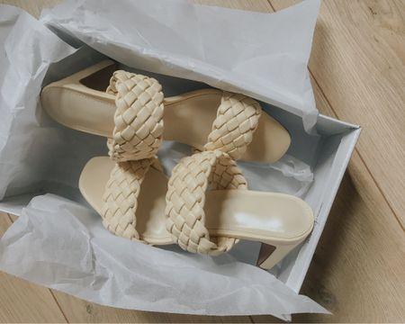 Slip on heels http://liketk.it/3k435 #liketkit @liketoknow.it #LTKstyletip #LTKunder50 #LTKeurope #slipon #beige #heels #asos #box #shopbop #sale #shoes #missguided #target